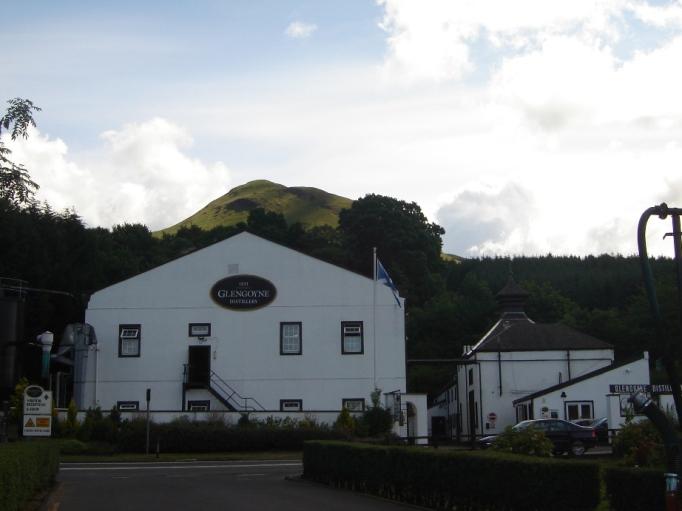Mein erster Kontakt mit einer Whisky-Brennerei (Foto: Hikekarin.com)
