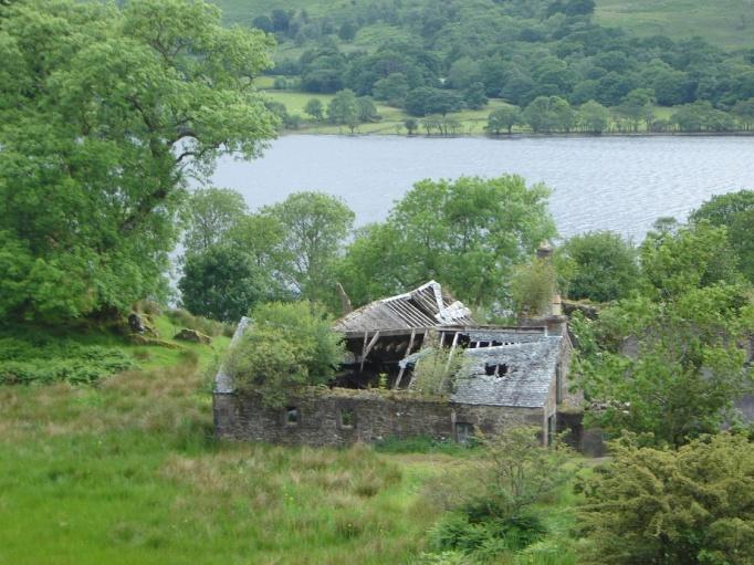 Die Natur erobert ein verlassenes Farmhaus (Foto: Hikekarin.com)