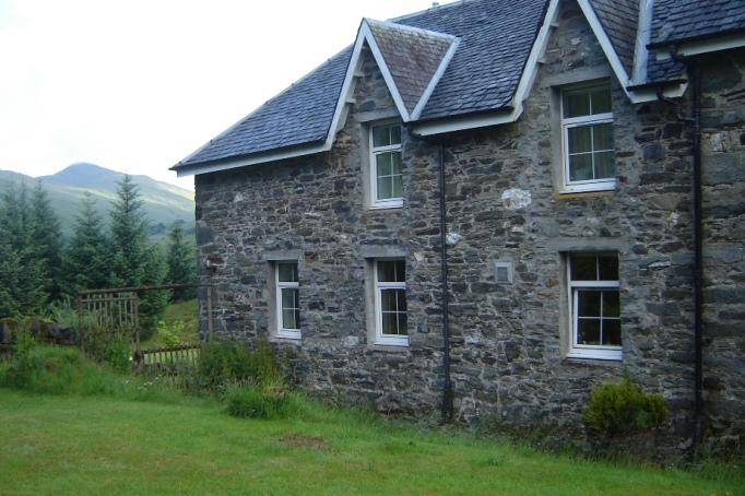 Mein erstes schottische Bed and Breakfast: The Ewich House (Foto: Hikekarin.com)