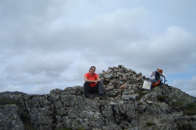 "Auf dem ""Gipfel"" (Foto: Hikekarin.com)"