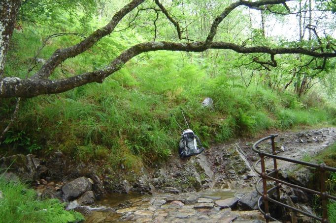 Kleine Bachquerung (Foto: Hikekarin.com)