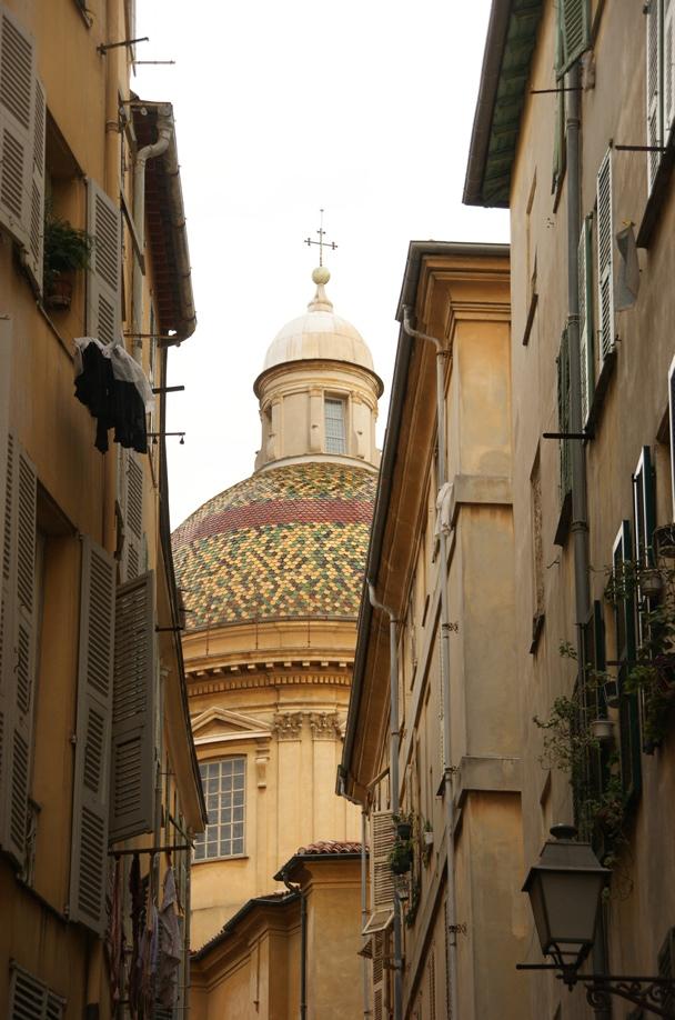 Blick auf das Dach der Kathedrale (Foto: Hikekarin.com)