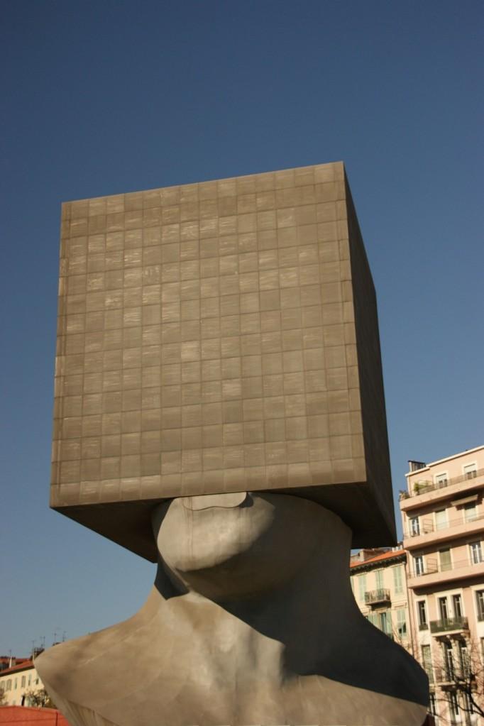 Wahrzeichen der Bibliothek von Nizza (Foto: Hikekarin.com)