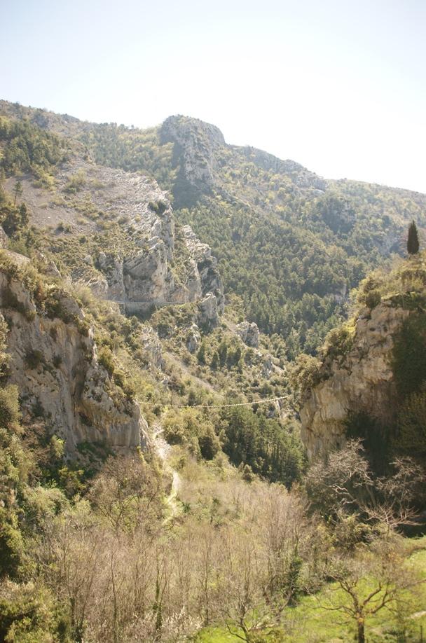 Gebirge bei Peille im Hinterland von Nizza (Foto: Hikekarin.com)