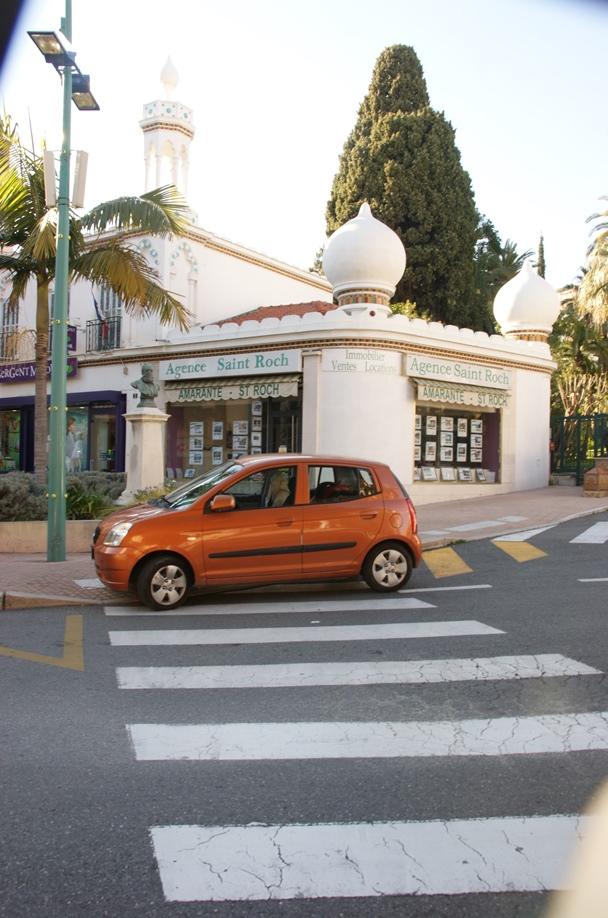 Extra mit Streifen markierter Parkraum ;-) (Foto: Hikekarin.com)