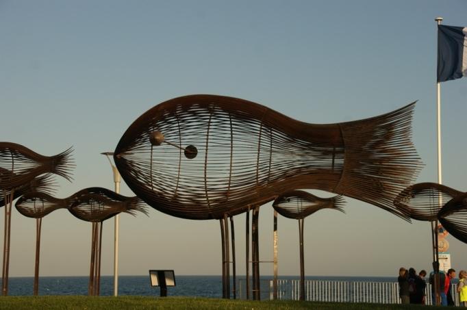 Nizza-Fische am Quai Anglais (Foto: Hikekarin.com)