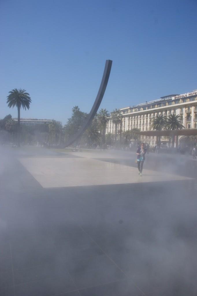 Dampfspektakel à la Nicoise (Foto: Hikekarin.com)