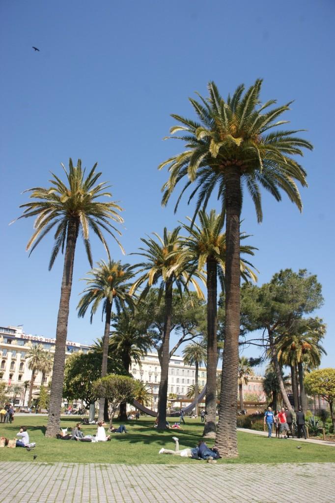 Im Jardin von Albert dem Ersten (Foto: Hikekarin.com)