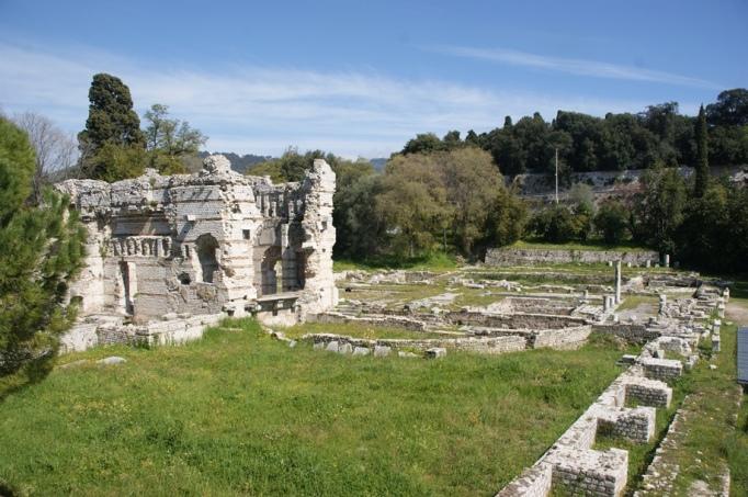 Ausgrabungen in Cimiez - dem antiken Nizza (Foto: Hikekarin.com)