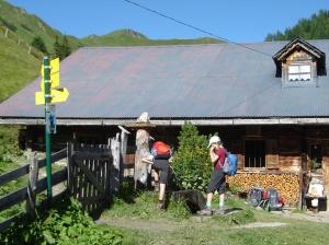 Die Draugsteinalm im Salzburger Land
