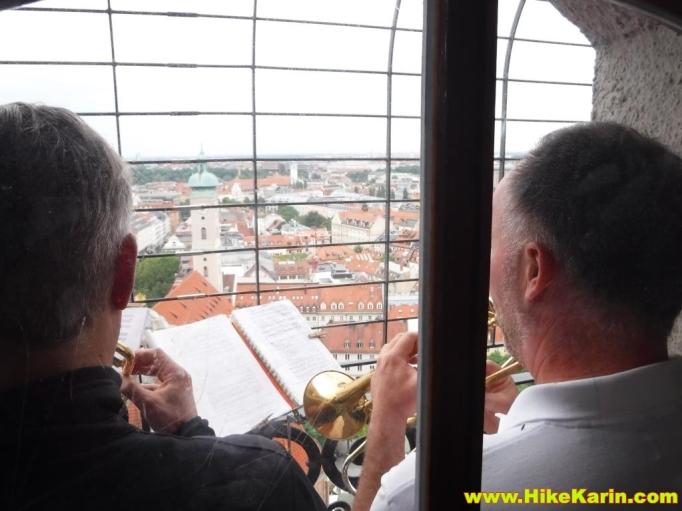 Turmbläser im Alten Peter von München