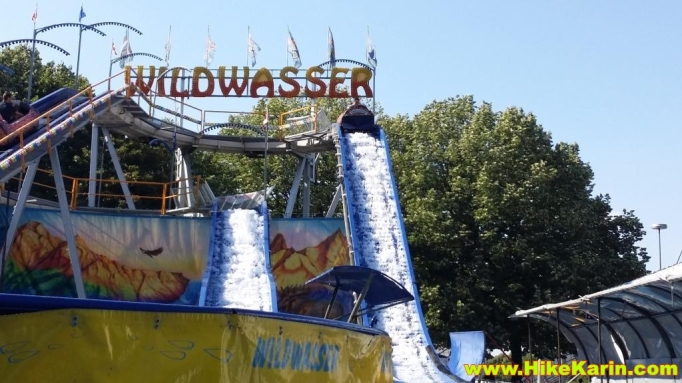 Wildwasserbahn im Olympiapark