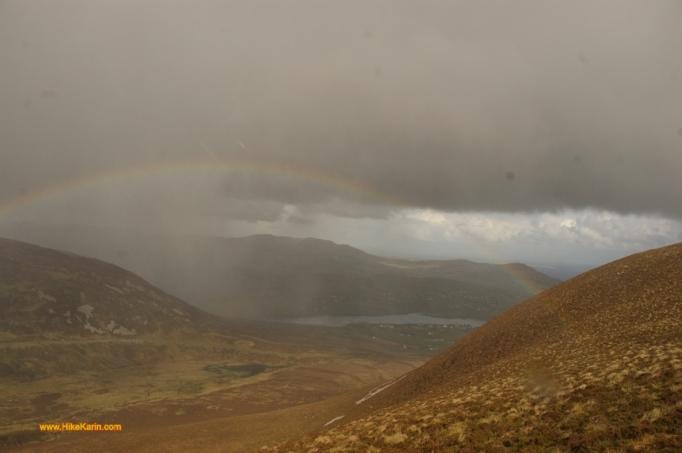 Regenbogen im County Donegal