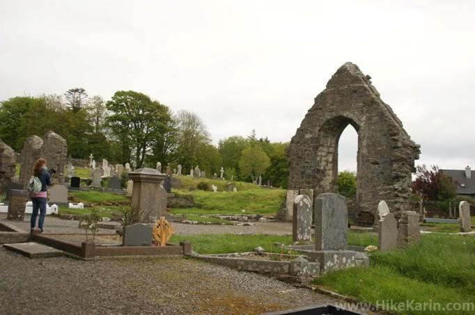 Der Friedhof von Donegal Town