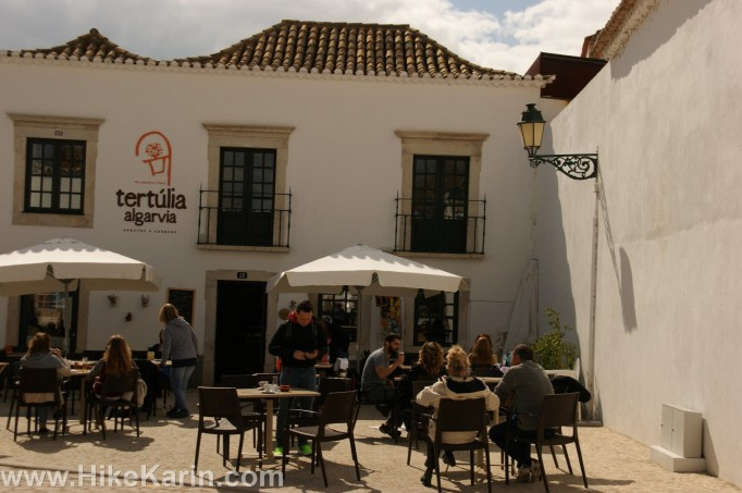 Eine Taberna in der Altstadt von Faro
