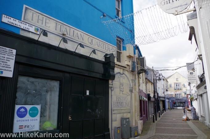Italienisches Viertel von Sligo