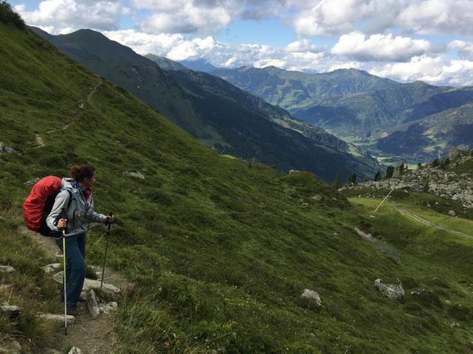Auf dem Gastein Trail